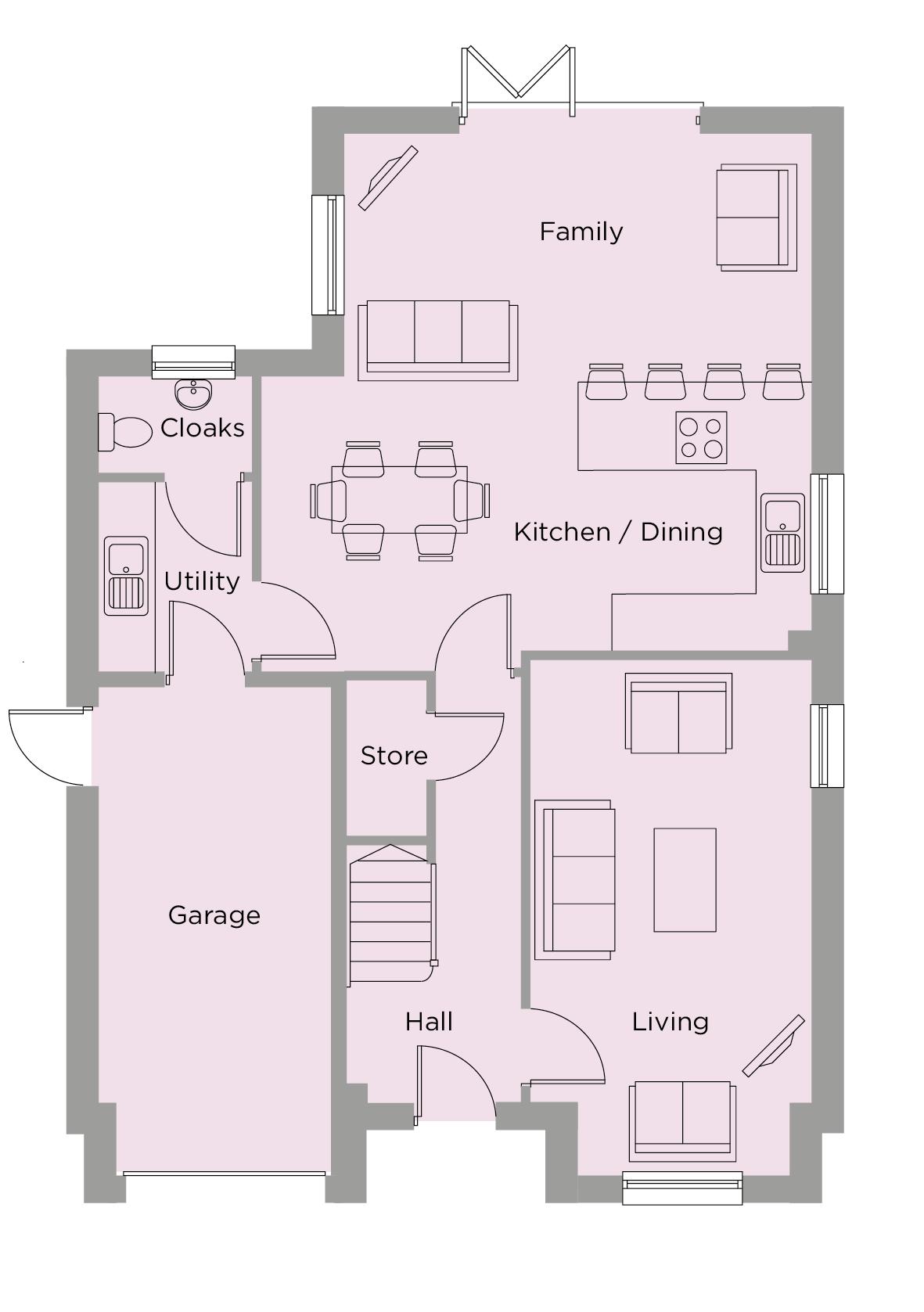 The Bronte Ground Floor