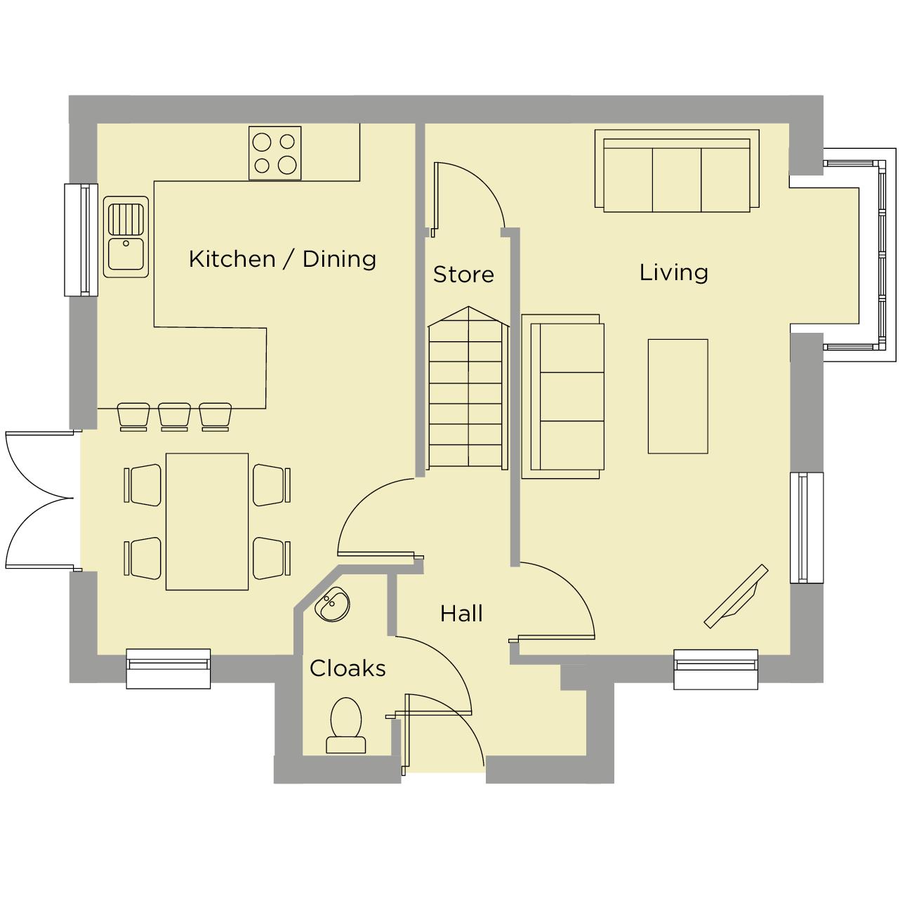 The Austin Ground Floor