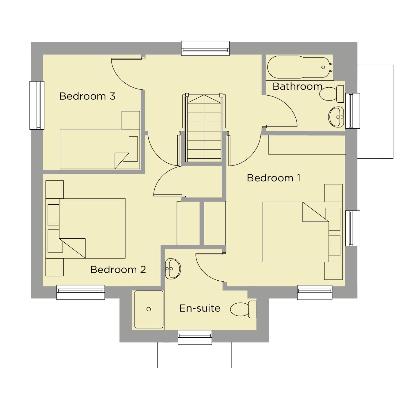 The Austen First Floor