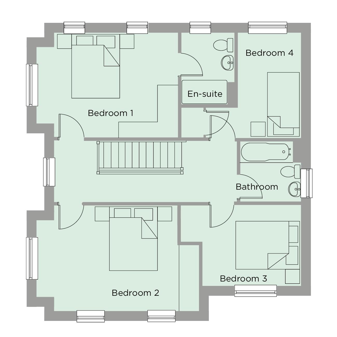 The Wordsworth First Floor