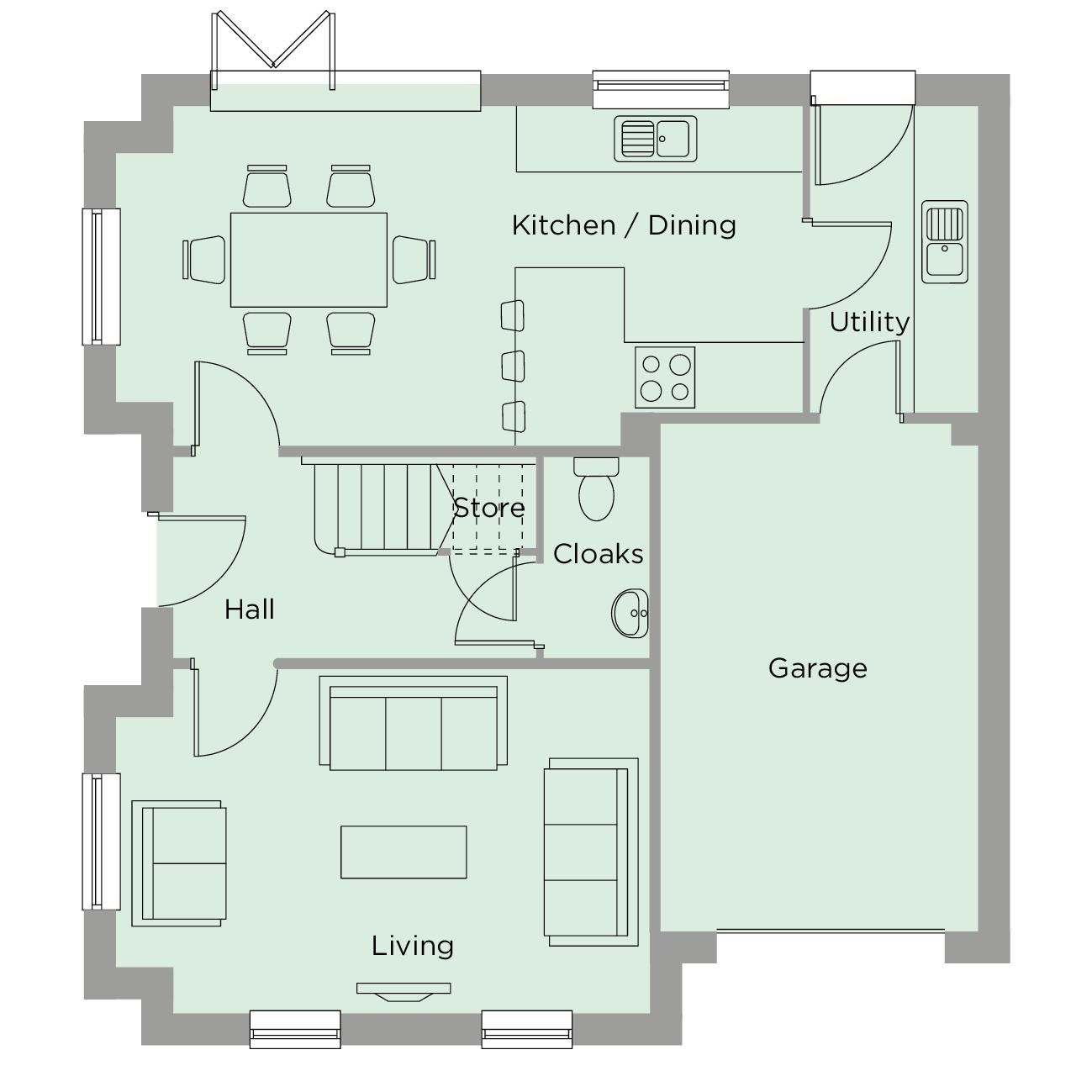 The Wordsworth Ground Floor