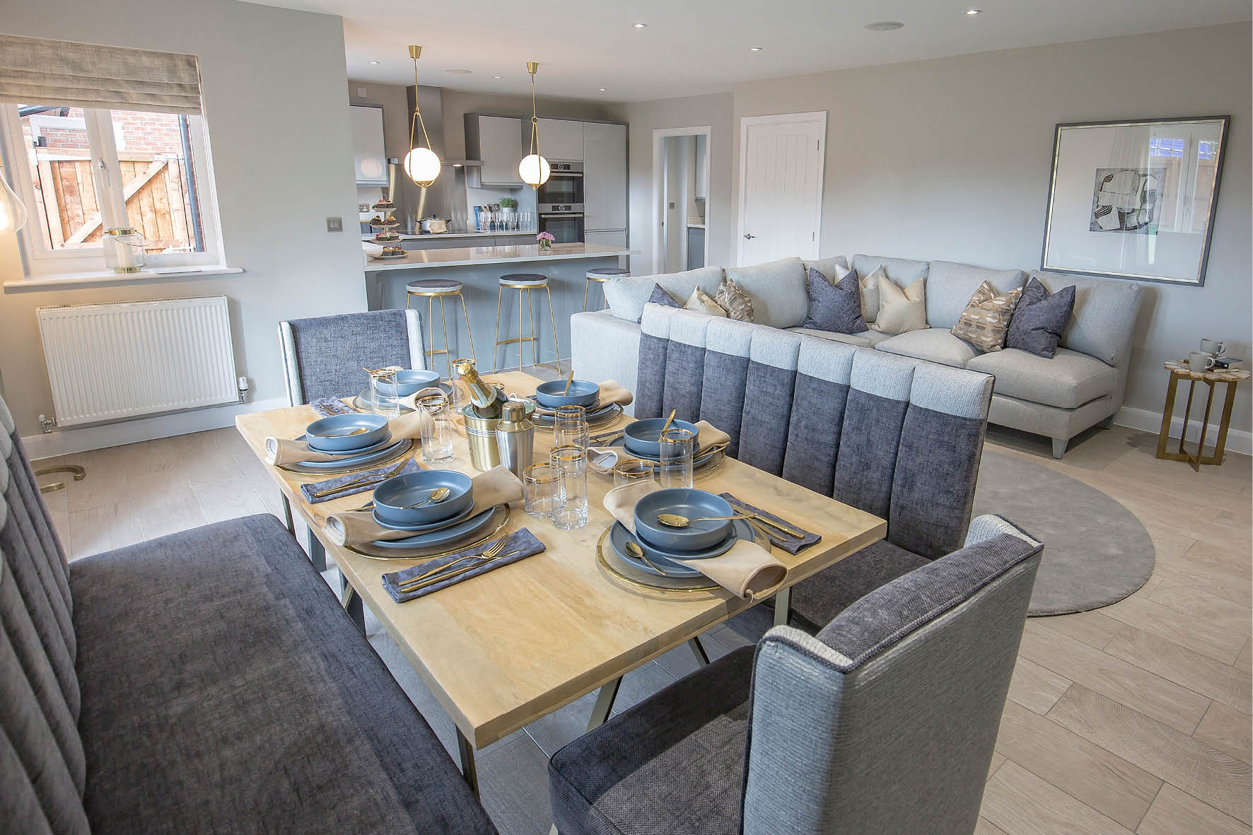 Plot 52 >> Large open family / dining areas