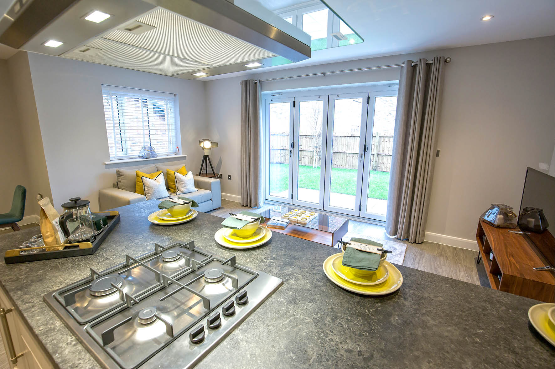 Plot 51 >> The kitchen is at the hub of the property