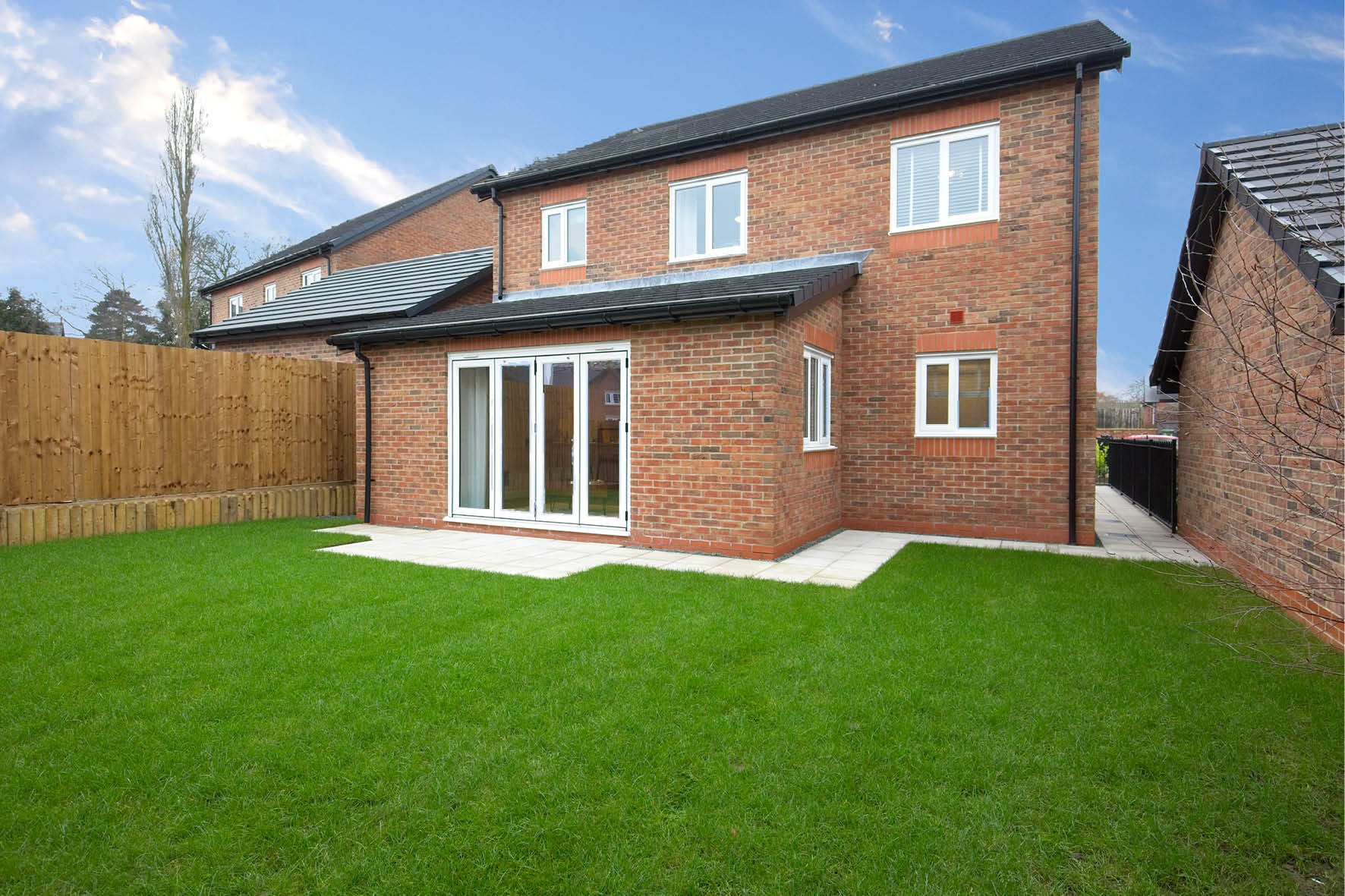 Plot 51 >> Rear aspect