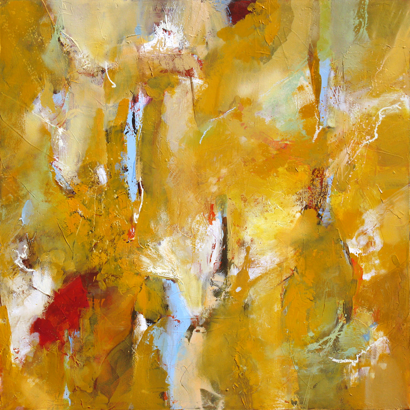 """Torridity"" 48 x 48 in. — oil & mixed media"