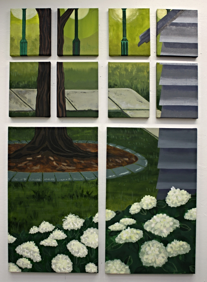 """Top Row L to R: Oil Ground 