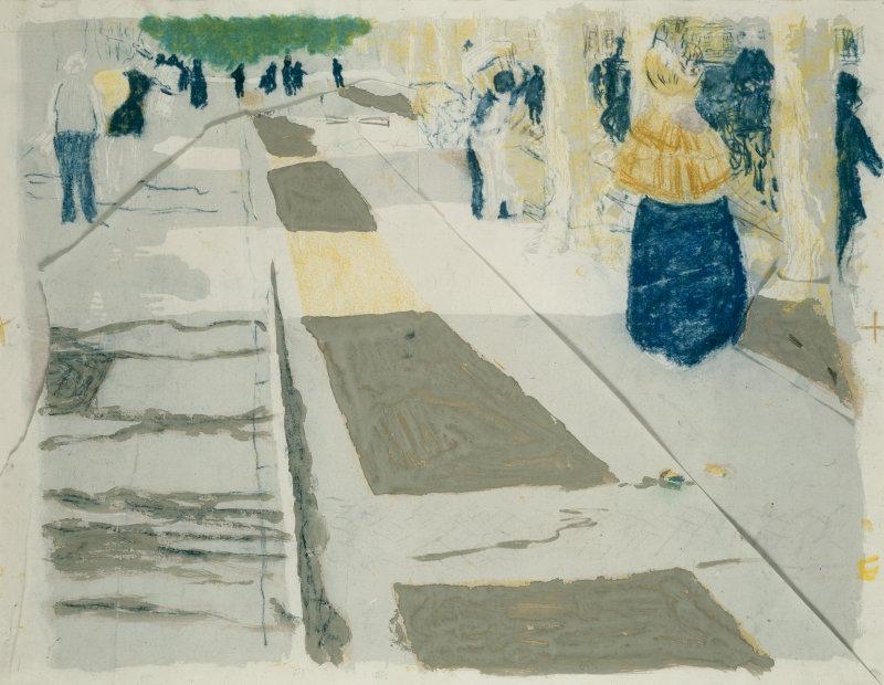 Edouard Jean Vuillard | The Avenue | 1899