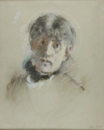 "Berthe Morisot | ""Self-Portrait"" | 1885"