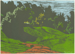 "Jack Beal | ""Landscape-Lovegrass"" | (n.d.)"