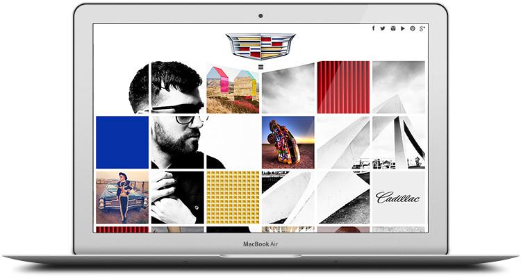 Cadillac: Brand Tumblr Site, Desktop