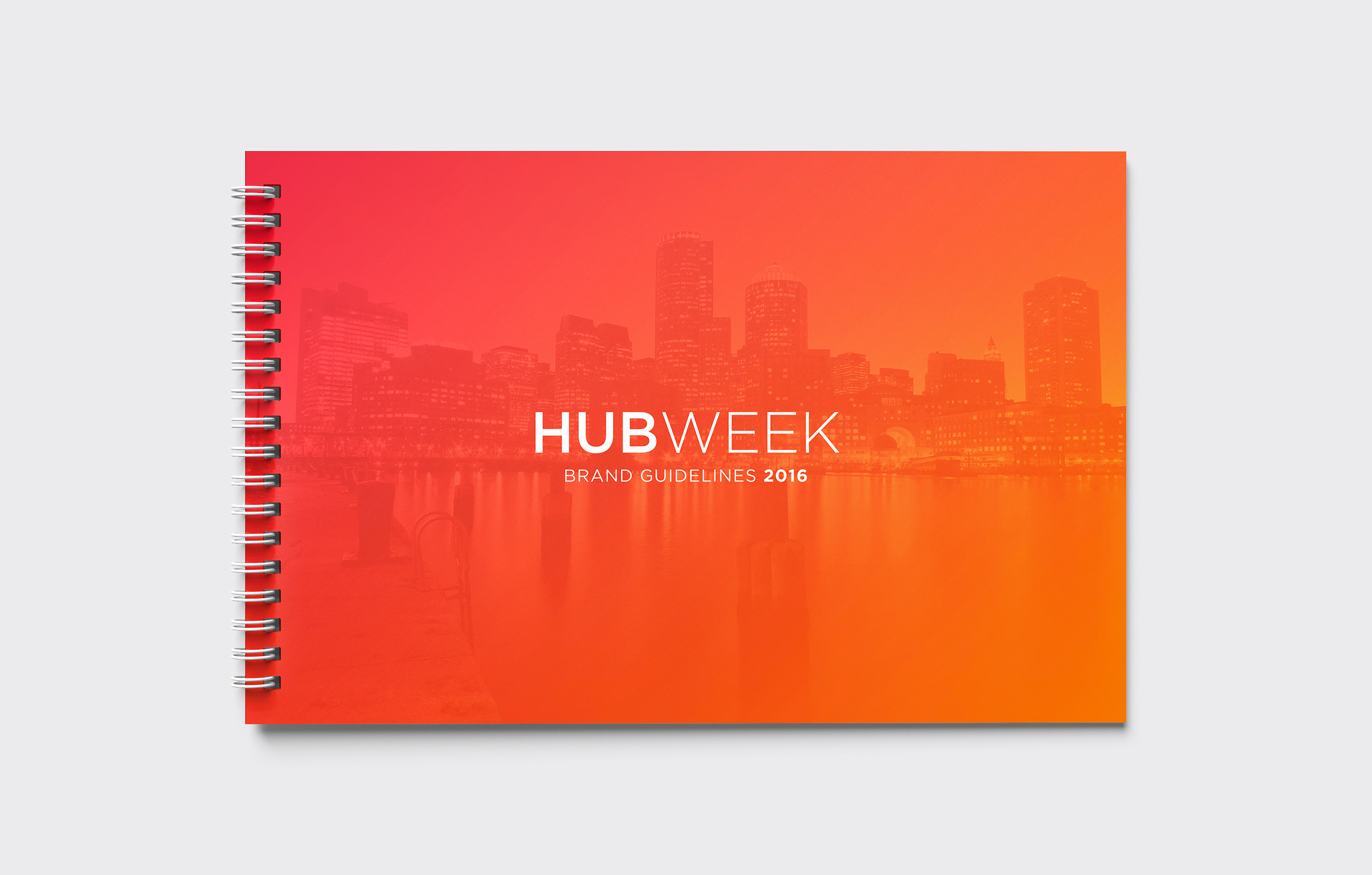 HUBweek Brand Guidelines Cover