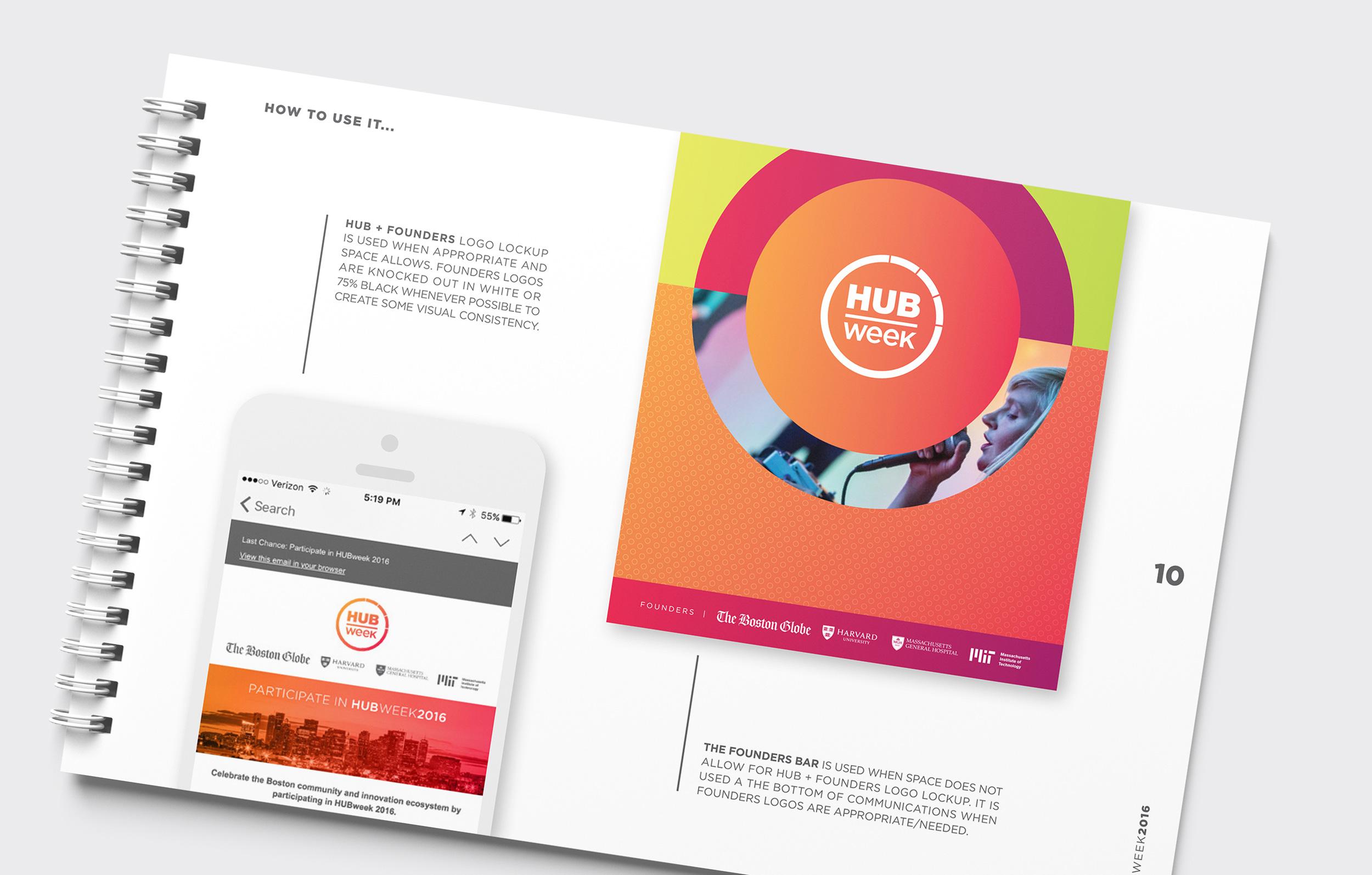 HUBweek Brand Guidelines Founders