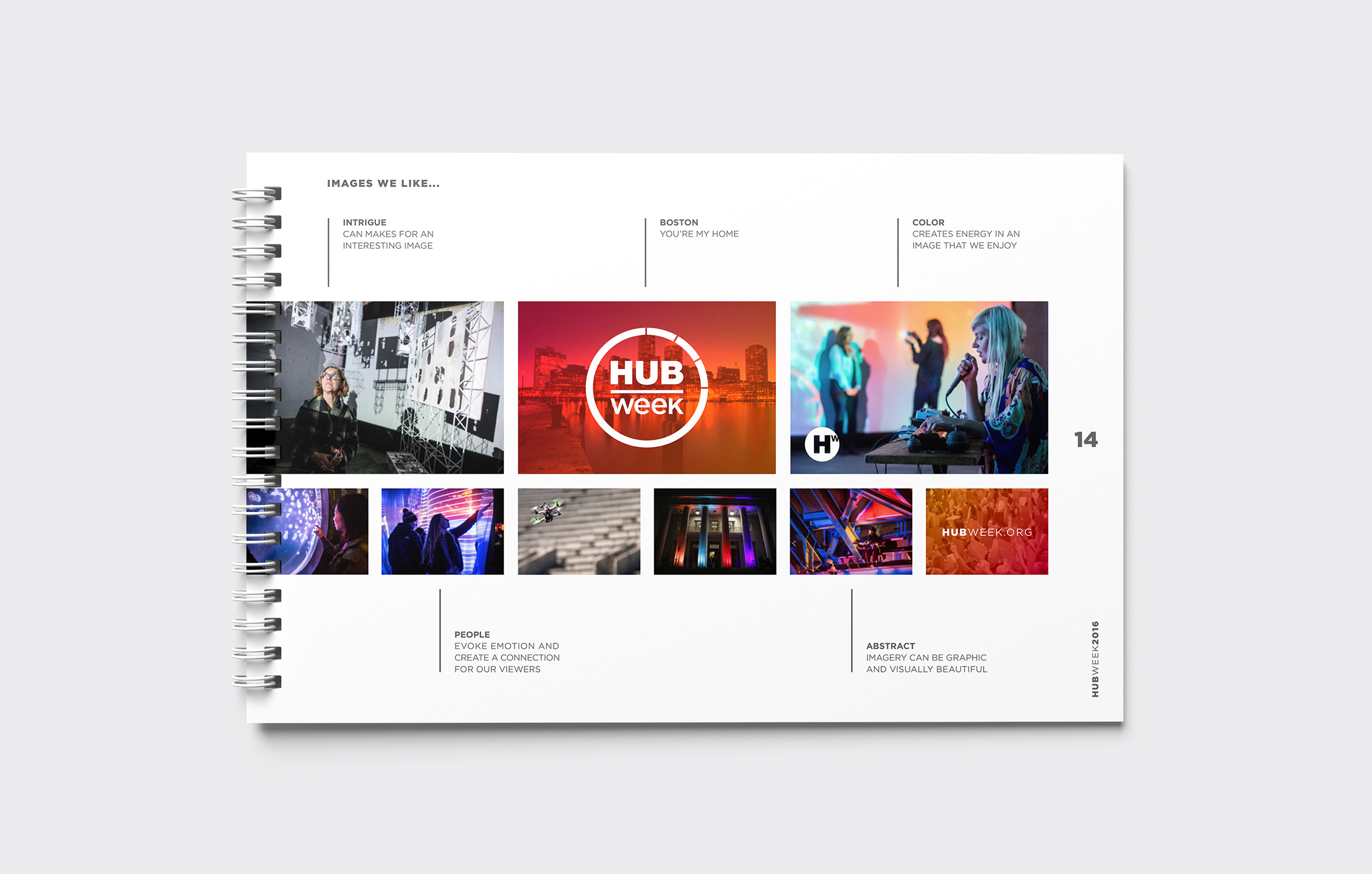 HUBweek Brand Guidelines Imagery