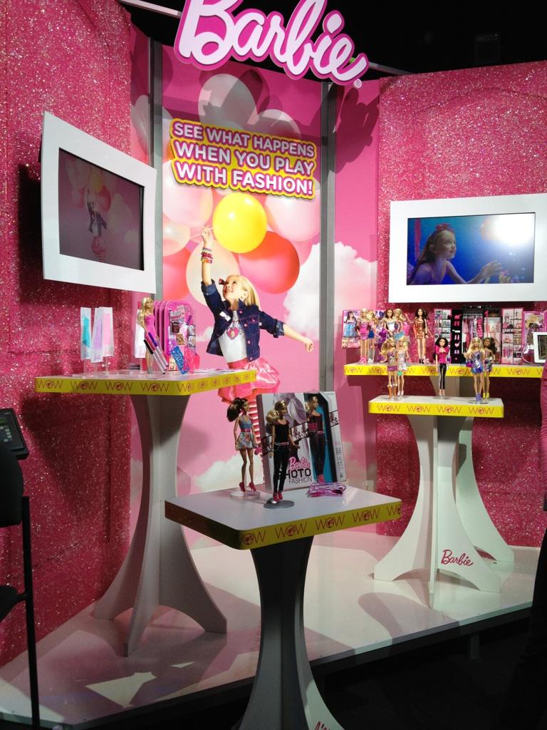 Barbie New York Toy Fair Display