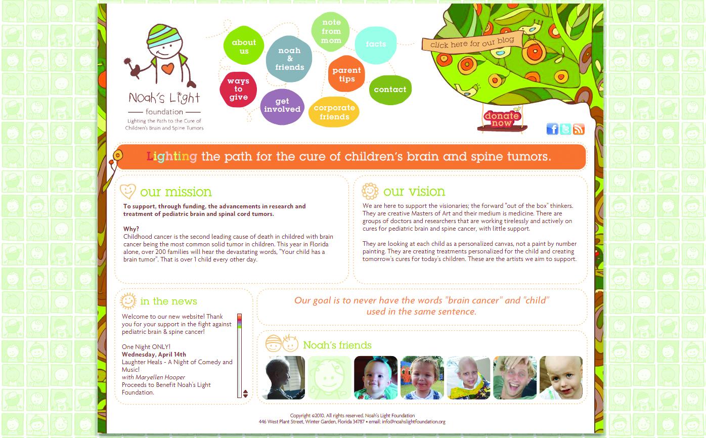 Noah's Light Foundation Website
