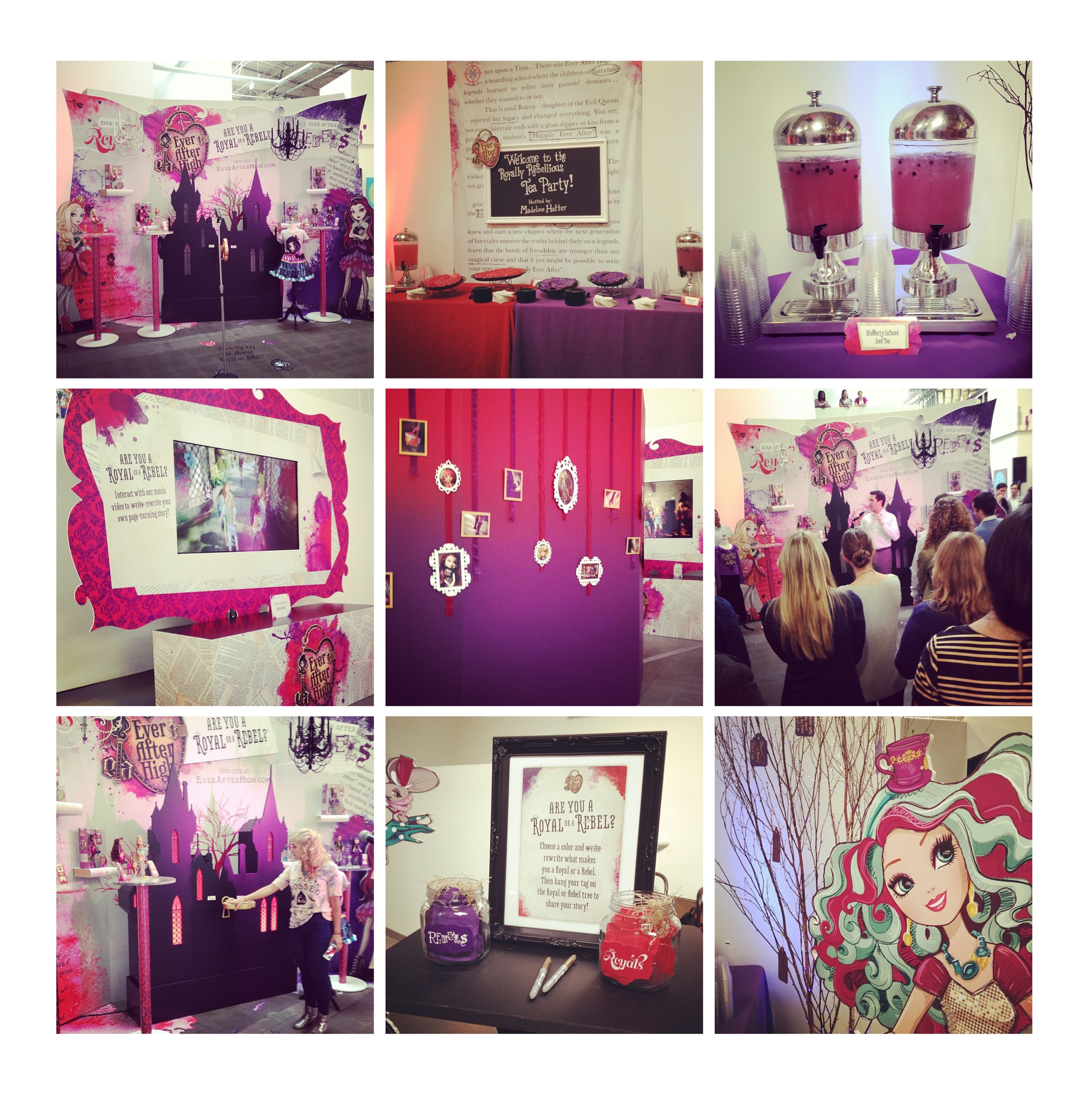 Ever After High Launch Party
