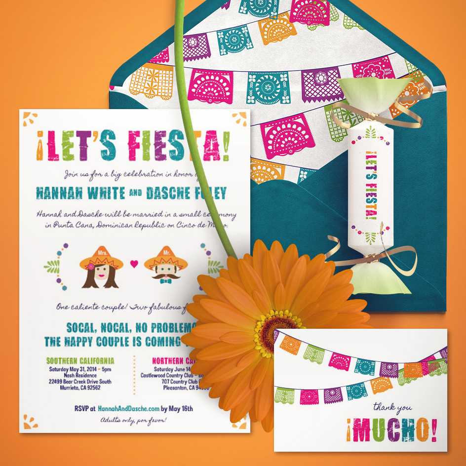 The Fiesta Wedding Collection