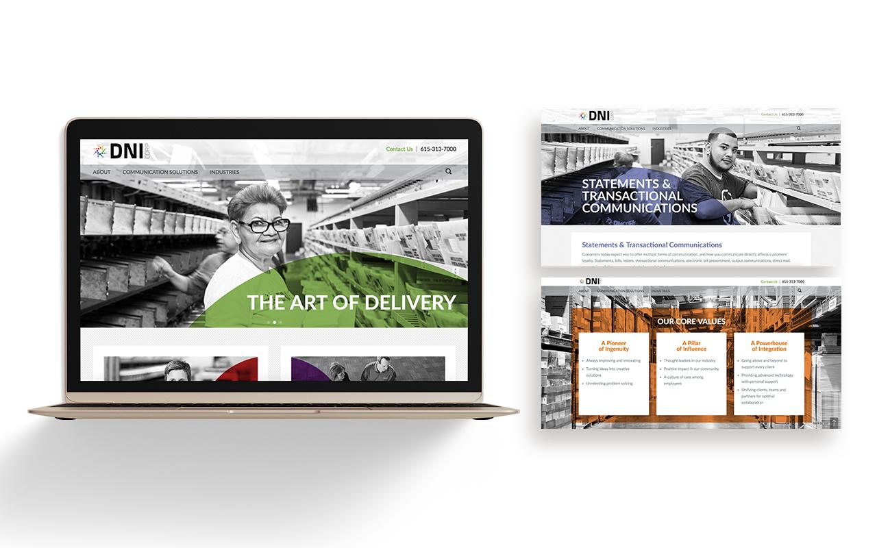 DNI Corp. Website