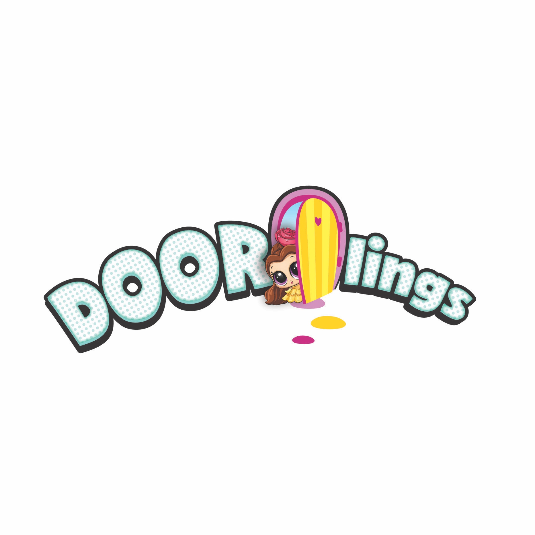 Doorlings logo for Moose Toys & Disney