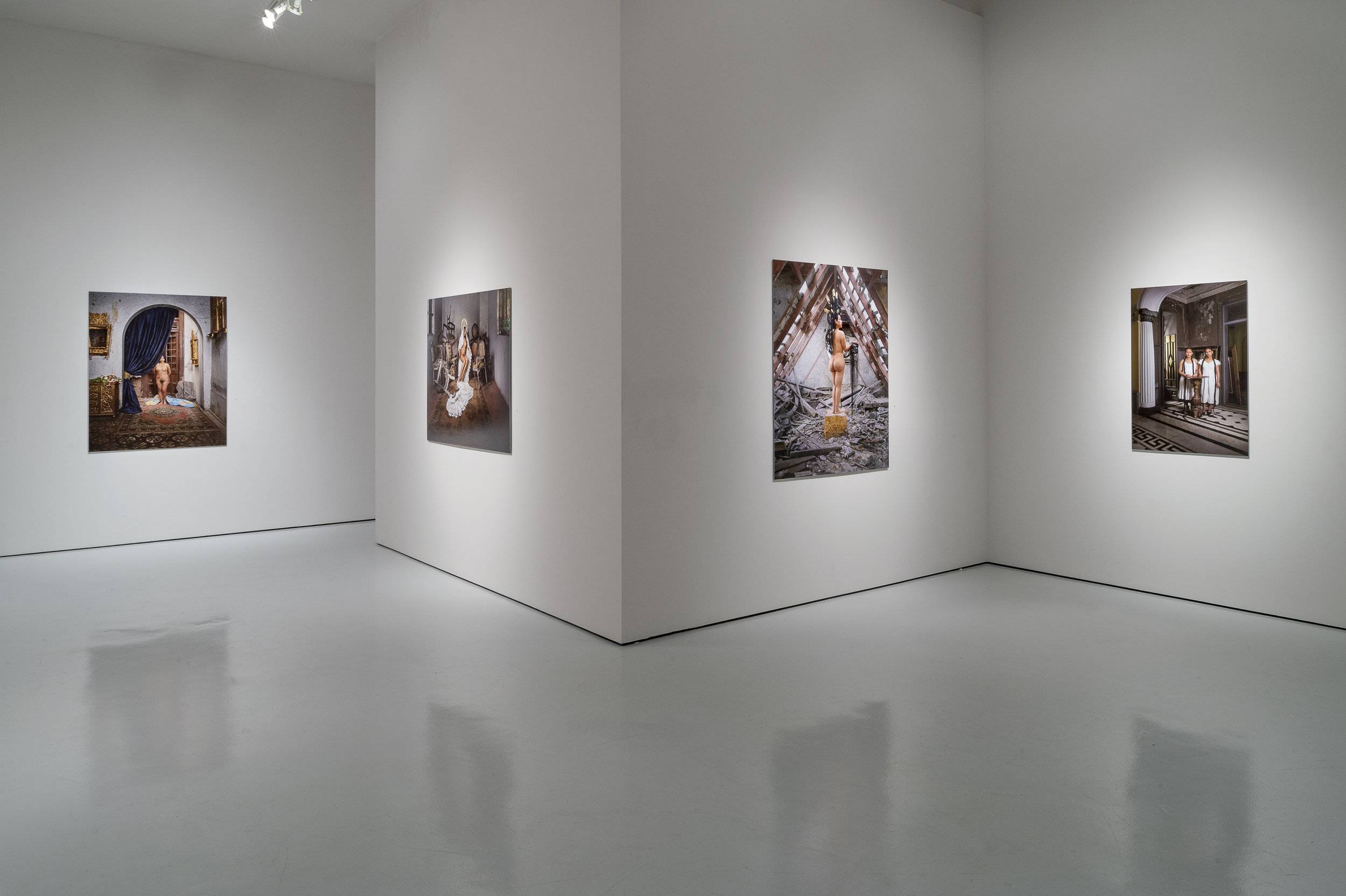 """Installation view of """"Canon"""" at the McClain Gallery, Houston, TX.(Photo Credit: Nash Baker)"""