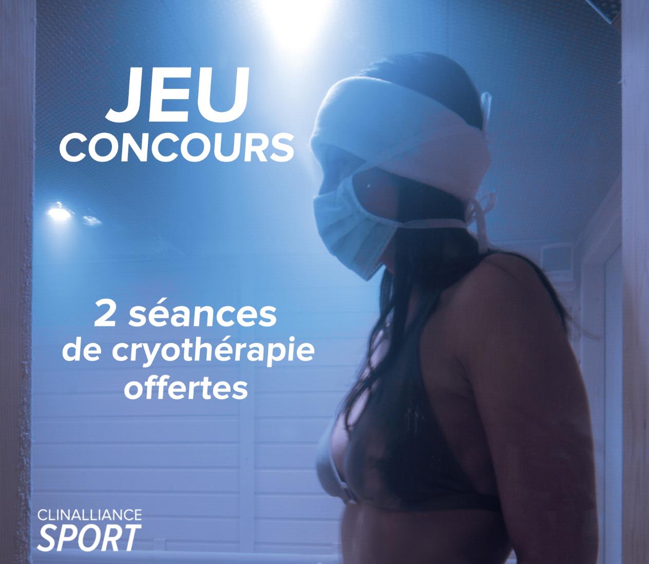 jeu-concours-facebook-clinalliance-sport-cryotherapie