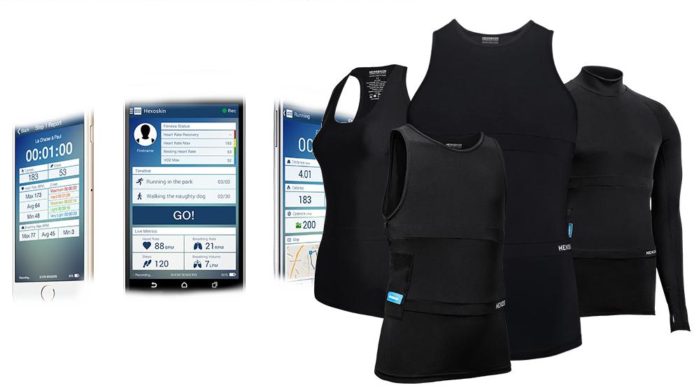 clinalliance-sport-vêtement-biométrique-hexoskin