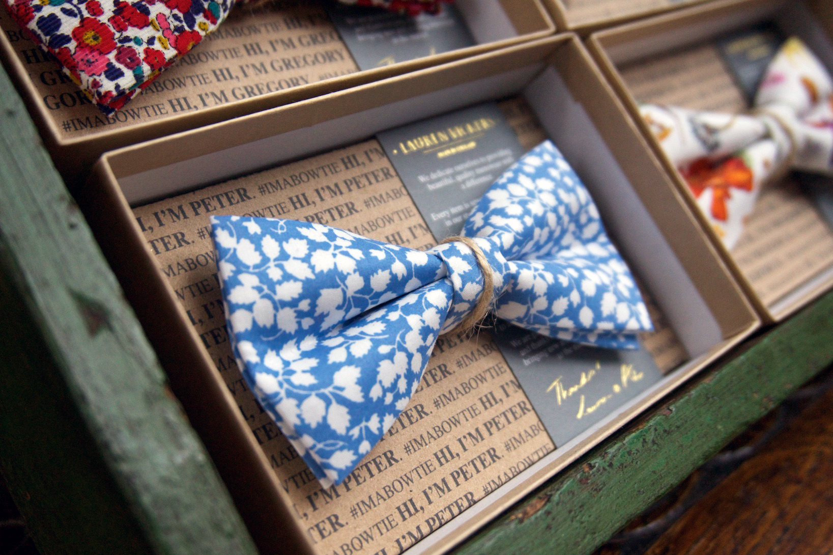 Liberty bow ties were a hit