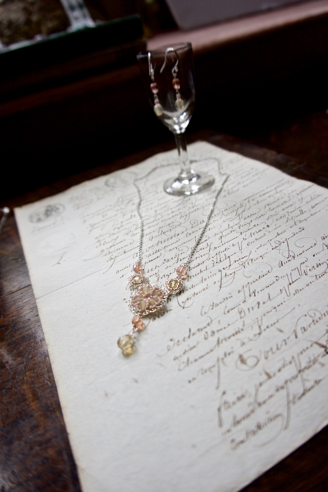 Beautiful accessories fromJudith Brown Jewellery