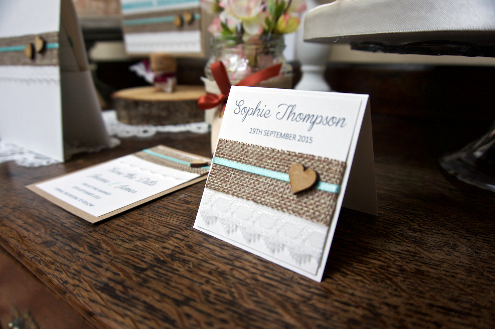 Handmade Invitations by Inspired By Lisa Stationary