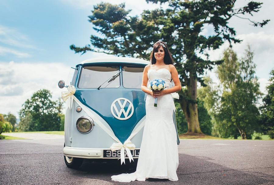 Retro Vibes. Image courtesy of Blue Pumpkin VW Wedding Hire
