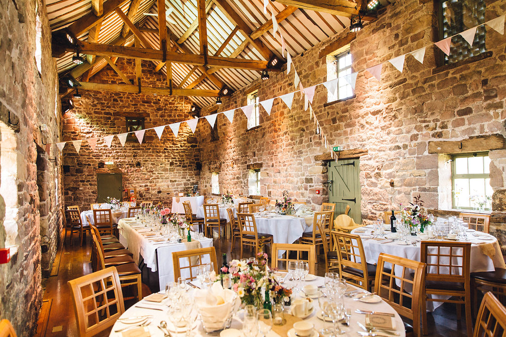 The ashes wedding barn
