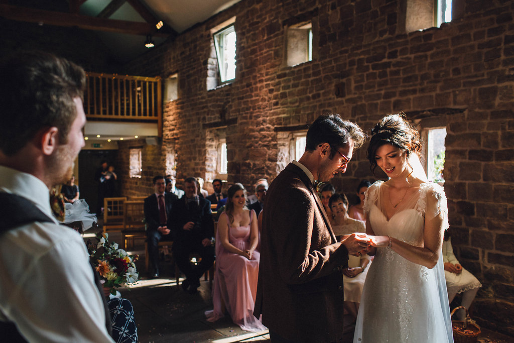 barn wedding staffordshire