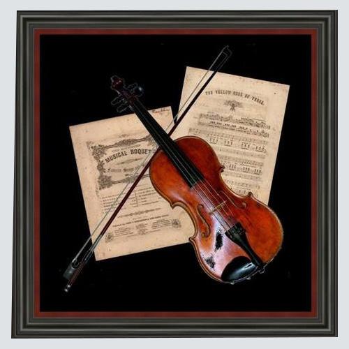 Frame your Heritage-framed violin