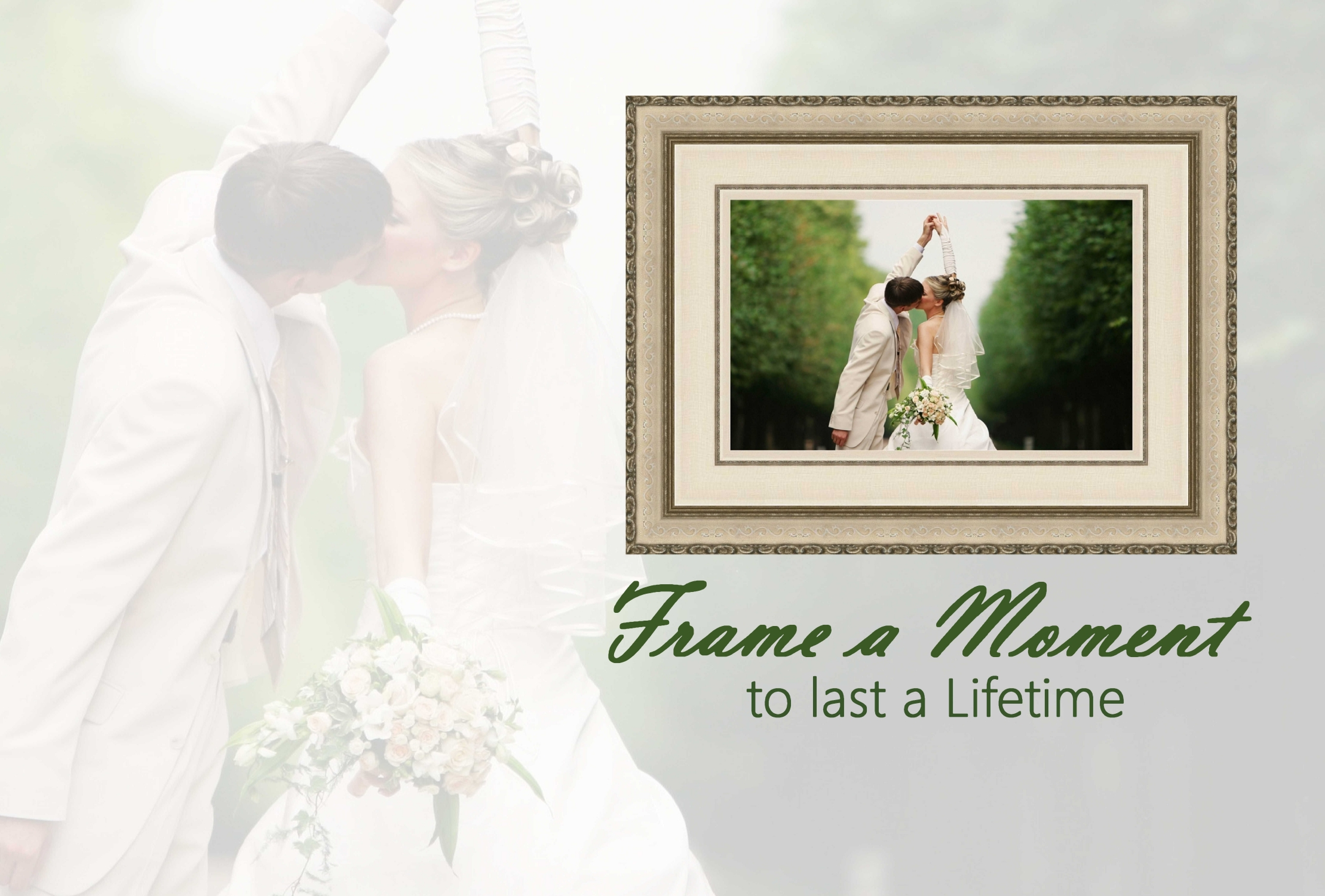 wedding sample frame