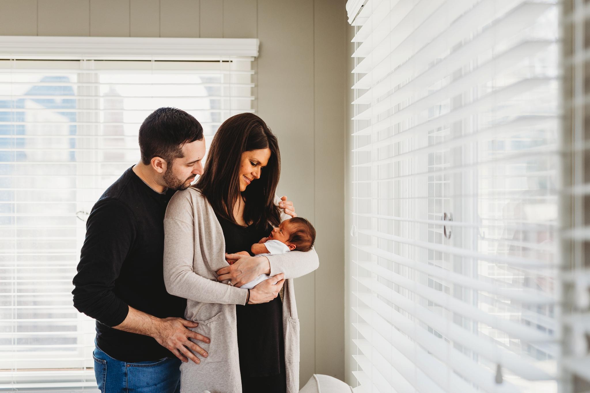 Newborn Lifestyle Session | MN Newborn Photographer