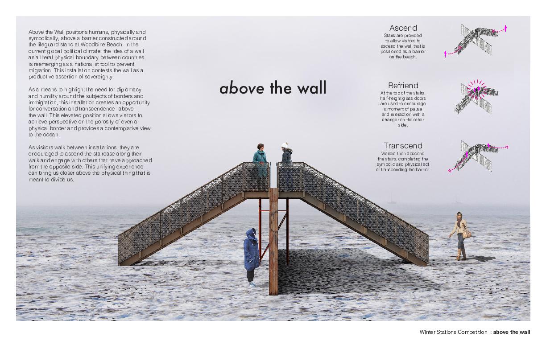 Above The Wall  Joshua Carel + Adelle York  Somerville, USA