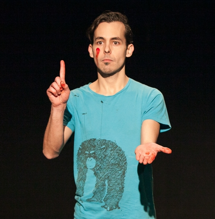 Héctor Álvarez -  is a writer, actor and director from Spain based in Chicago. He has studied non-Western theater traditions in China, Japan and Indonesia, and in 2008 received a Watson Fellowship to research community-based performance in Latin America. He has a BA in Theater from Macalester College and an MA in Modern English Literature form University College London. As an actor, he has trained and studied with Augusto Boal, Peter Schumann, Malte Lambrecht, Guillermo Heras and Georges Bigot and has performed in more than 20 productions, most recently in Theatre Y's production of Macbeth in the role of Malcolm. He has been an ensemble member of Theatre Y since 2015.