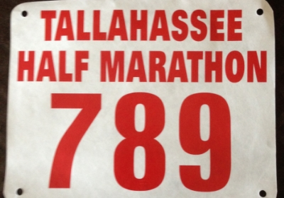 My Bib number from last year