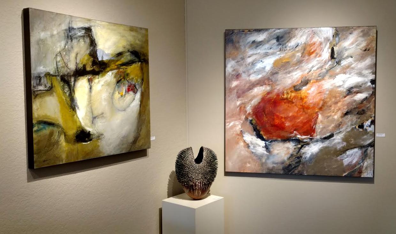 Current exhibiton at Howard/Mandville Gallery in Kirkland, WA