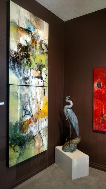 Current installation at Howard/Mandville Gallery in Kirkland, WA
