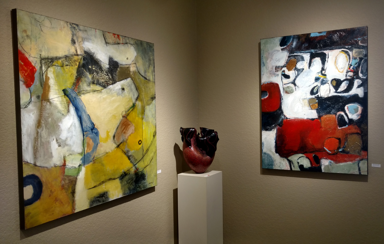 Part of current exhibition at Howard/Mandville Gallery in Kirkland, WA