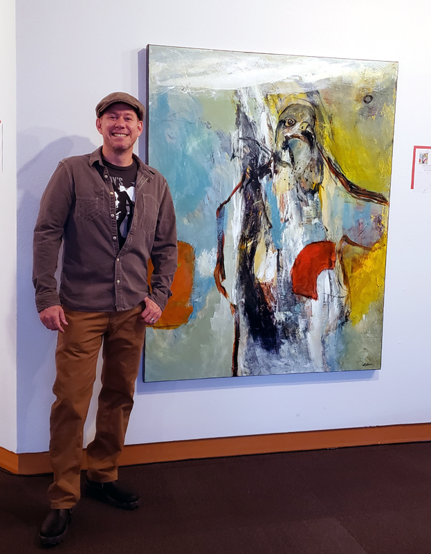 Me at the Museum of Northwest Art in La Conner, WA, USA.