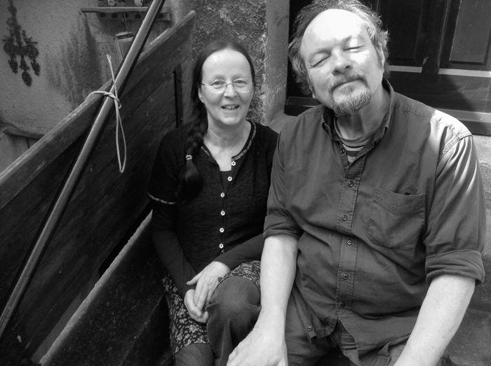 Pim and Niek Hoogland. Photo by Johnny Dowd.