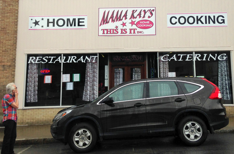 Mama Kay's Restaurant in Princeton, West Virginia. Photo by Jennifer Edmondson.