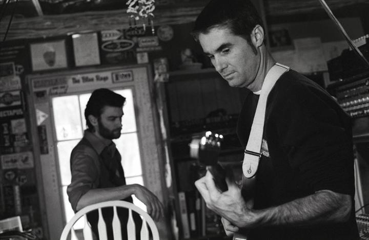 Willie B and Jim White, 2006. Photo by Kat Dalton.