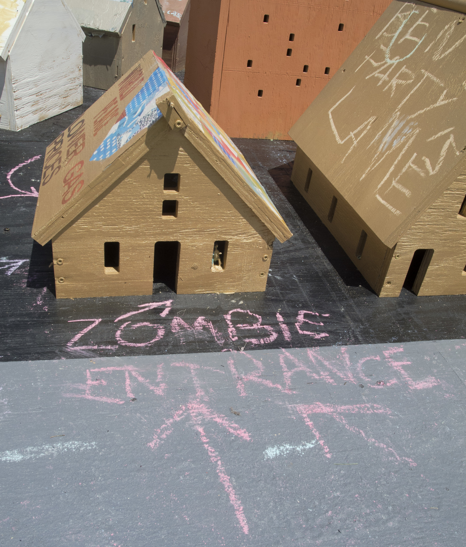 Zombie entrance