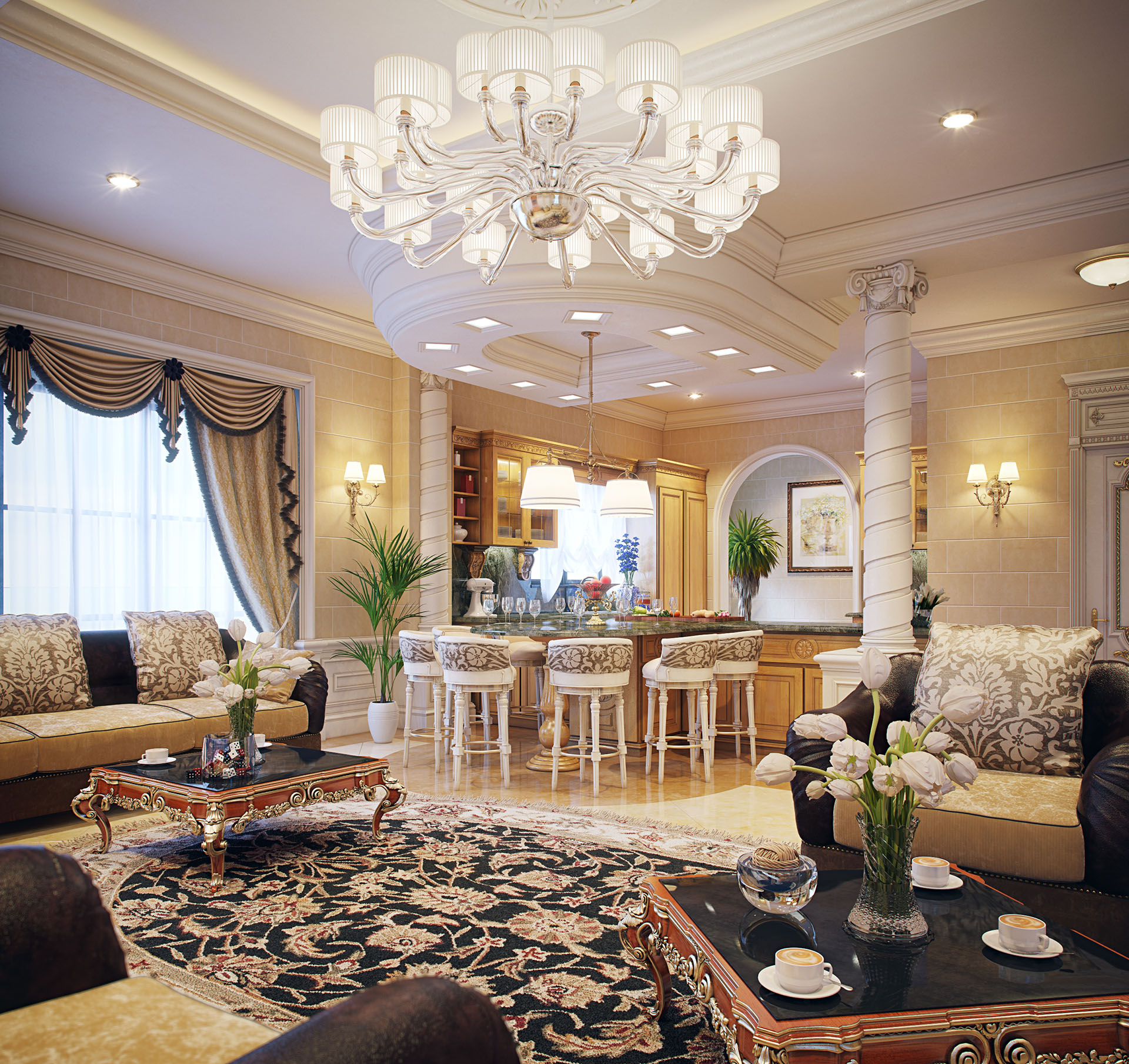 Taher Design Luxury Villa Interior Qatar (17).jpg