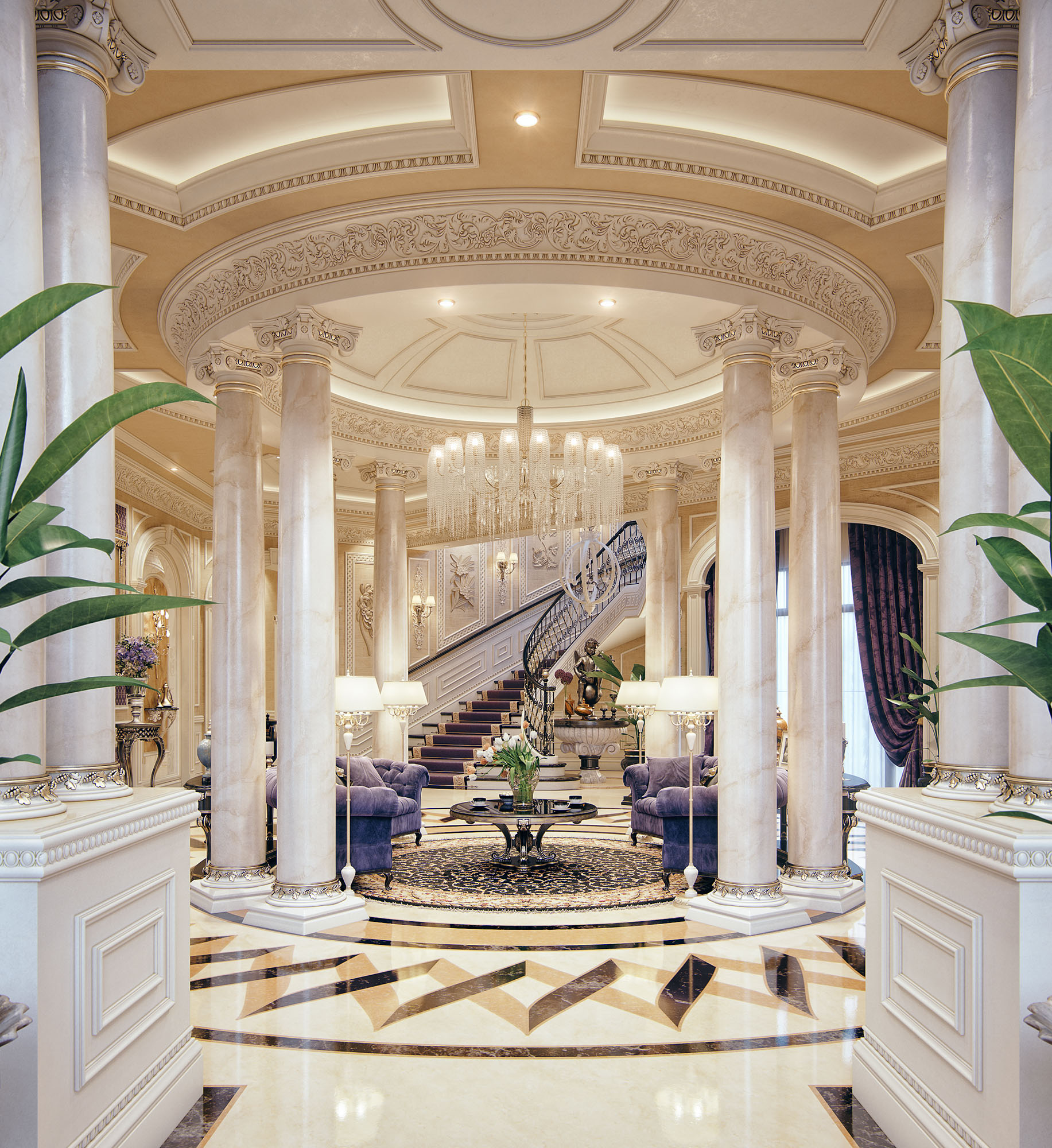 Luxury Mansion Qatar by Taher Studio_01.jpg
