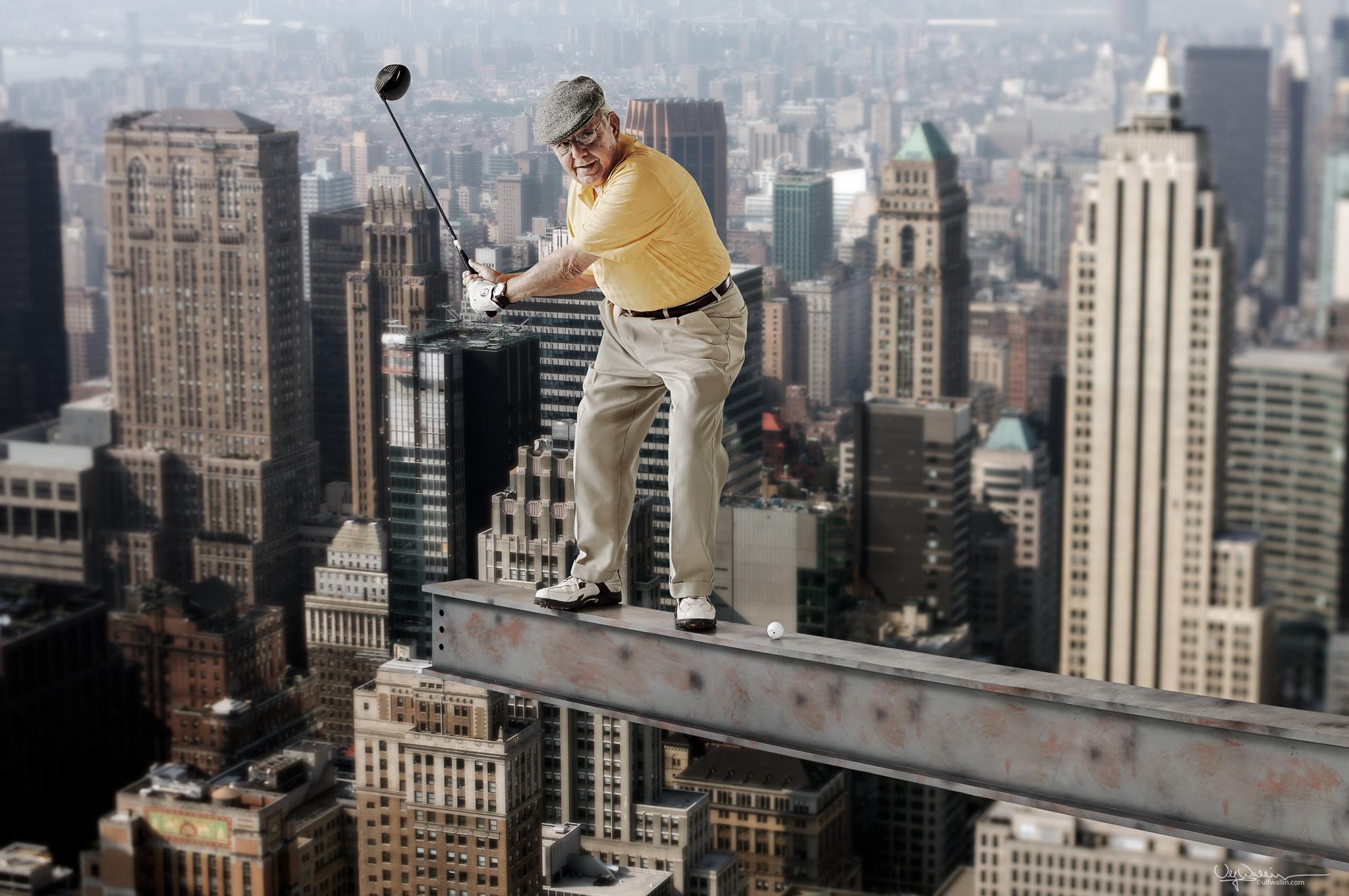 Extreme golfing?