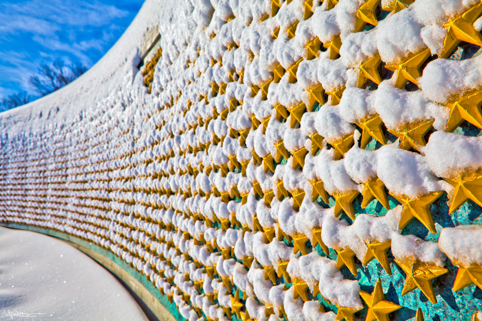 WWII Memorial Gold Stars